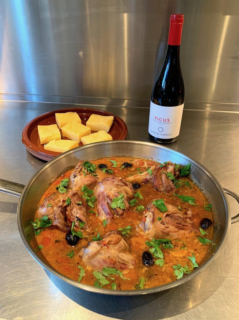 Kim's wijn-spijs combinatie maart